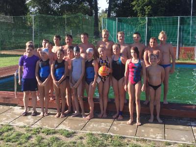 Wasserball-Mannschaft Jugend Teamfoto